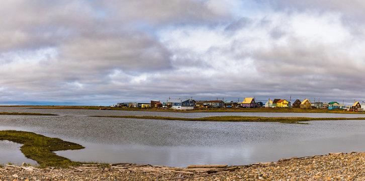 Scenic Tuktoyaktuk Arctic Ocean NWT Canada