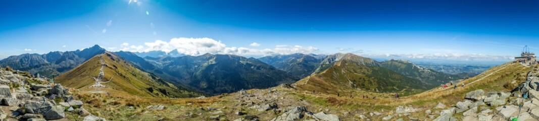 Fototapeta Panorama Góry polskie, tatry Zakopane obraz