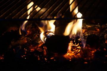 Des braises et des flammes