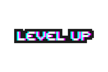 Level up message
