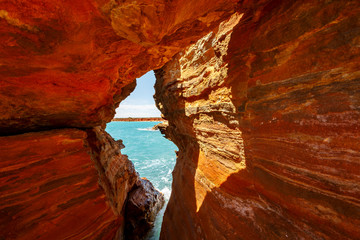 Fotorollo Violett rot Red Rocks Broome