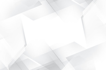 Geometric Grey and White Abstract Design Background