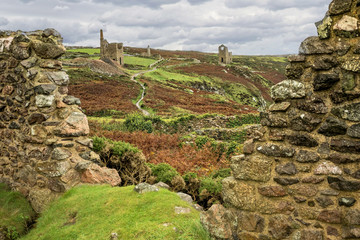 Tin Mine Ruins - Cornwall, England