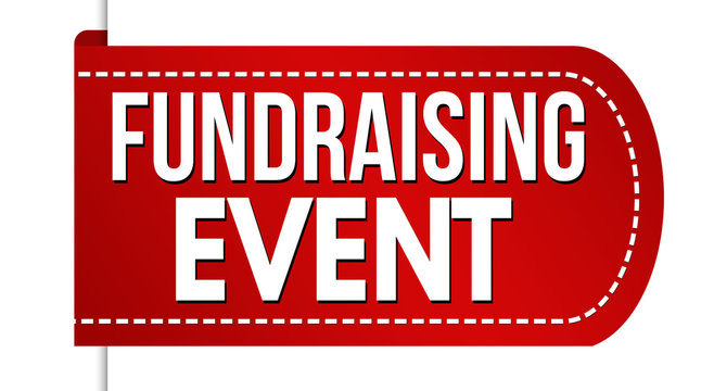 Fundraising event banner design