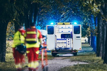 Team of Emergency medical service