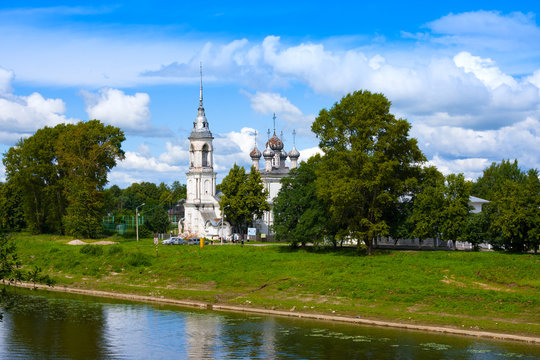 Church of Presentation of the Lord was built in 1731-1735 years in Vologda, Russia