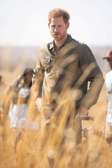 Prince Harry takes part in Commonwealth activities in Botswana