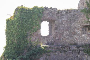 Küssaburg Ruine mit Panoramasicht