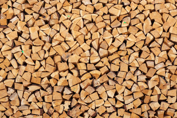 pile of wood background texture