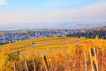 Herbstlicher Rheingau, Kiedrich. 3. November 2018.