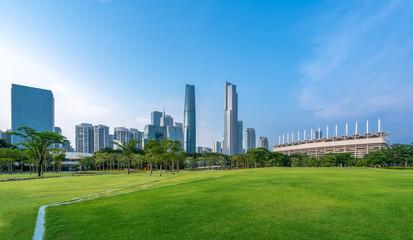 Foto op Textielframe Texas Beautiful city skyline of Guangzhou