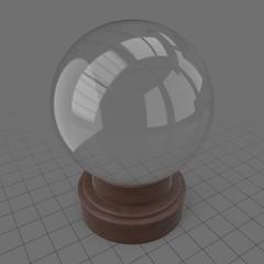 Orbuculum crystal sphere