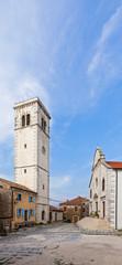 alte Kirche in Oprtalj, Kroatien