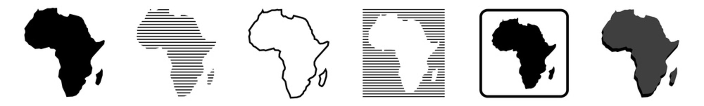 Africa Map | African Border | Continent | Variations