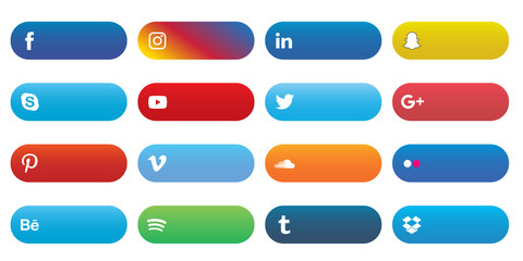 Social Media Label Set 1