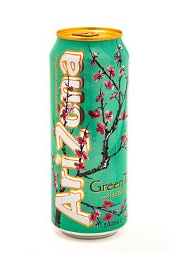 Can of Arizona Green Iced Tea