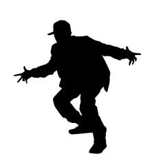 Hip-hop Dancer Silhouette