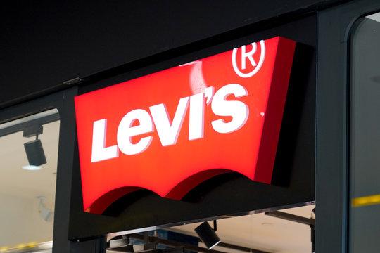 levis shop Levi's Jeans Sign and Logo