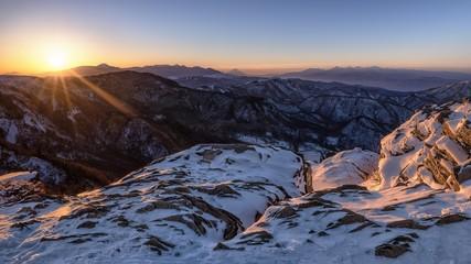 長野県・美ヶ原高原 冬の高原風景 3