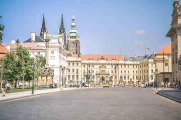 Fond de hotte en verre imprimé Vienne cathedral in prague