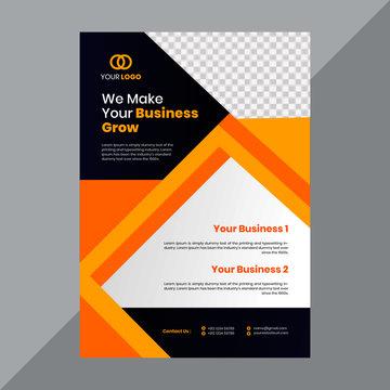 Creative Modern Corporate Flyer Design Template