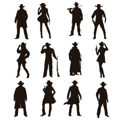 The Cowboy Silhouette