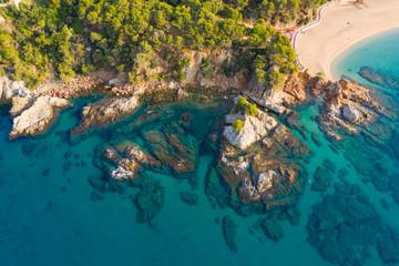 Fototapete - Mediterranean coast. Spain.