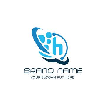 H Letter logo/identity design template vector eps