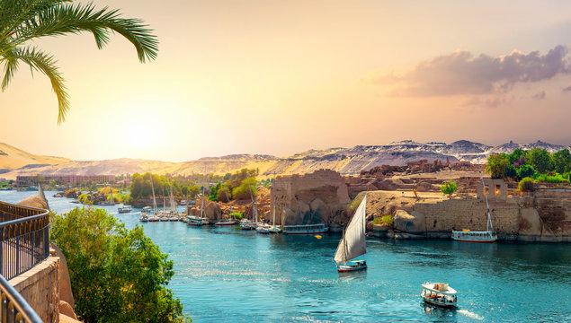 Panorama of Nile