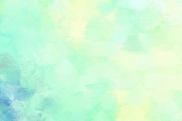 vintage brush painted illustration with tea green, sky blue and pale turquoise color. artwork can be used as texture, graphic element or wallpaper background Wall mural