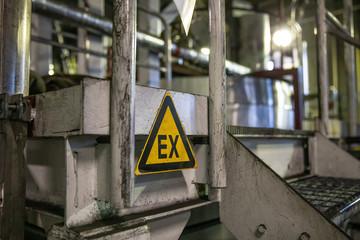 ATEX sign EX zone