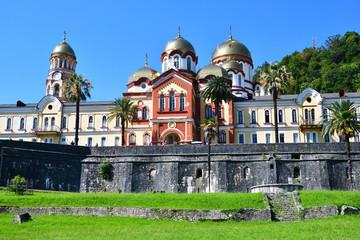 Abkhazia, New Athos monastery in Abkhazia