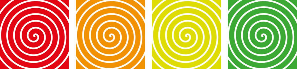 Printed kitchen splashbacks Spiral Spirale