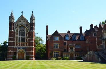 Selwyn college in Cambridge, Great Britain