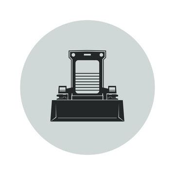 Skid steer loader icon