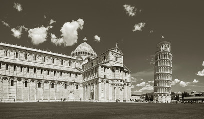Fototapete - Leaning tower of Pisa, Italy