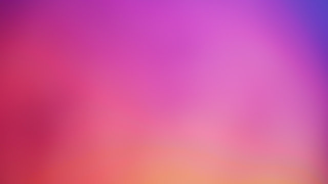Pastel tone purple pink blue gradient defocused abstract photo smooth lines pantone color background