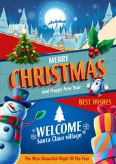 merry christmas card promo