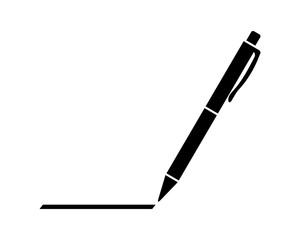 długopis ikona - fototapety na wymiar