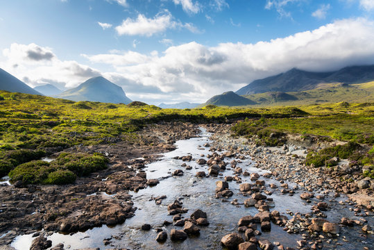 Cuillins Hills, Isle of Skye, Scotland