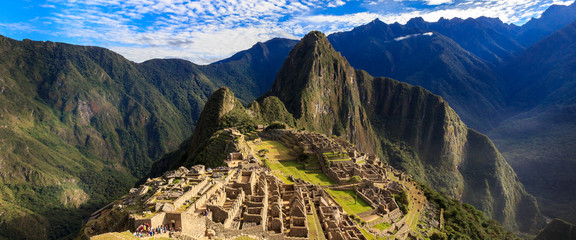 Morning View of Machu Picchu (UNESCO World Heritage)