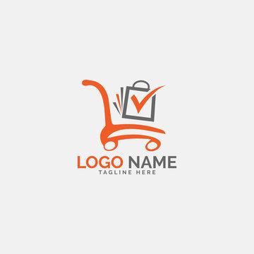 Online shoping logo