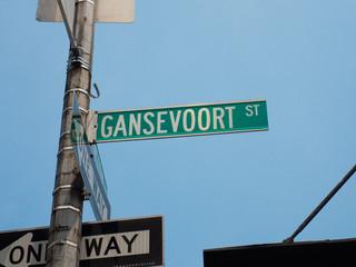 Gansevoort street NYC.