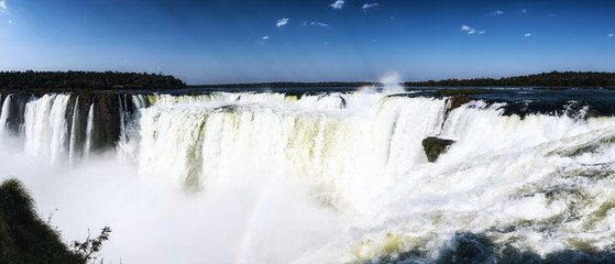 Iguazu waterfalls, Devil Throat (Garganta del diablo)