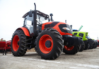 Agricultural tractor and its parts