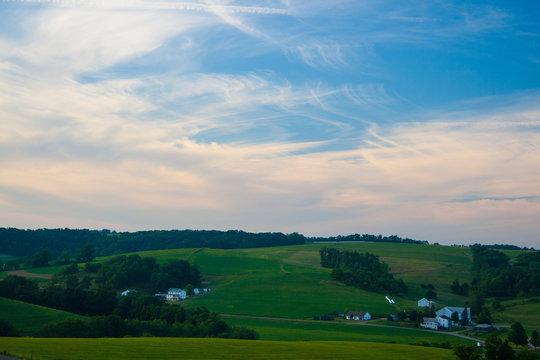 Amish Country Farmland, Ohio
