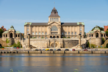 National Museum in Szczecin. During the day