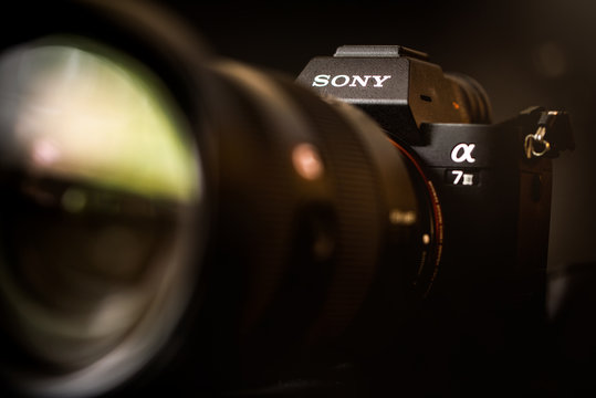Sony A7III mirrorless digital camera