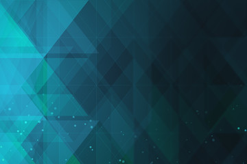 Fotobehang - Abstract blue crystal background