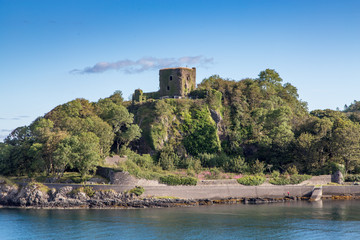 The Ruins of Dunollie Castle, Oban, Scotland